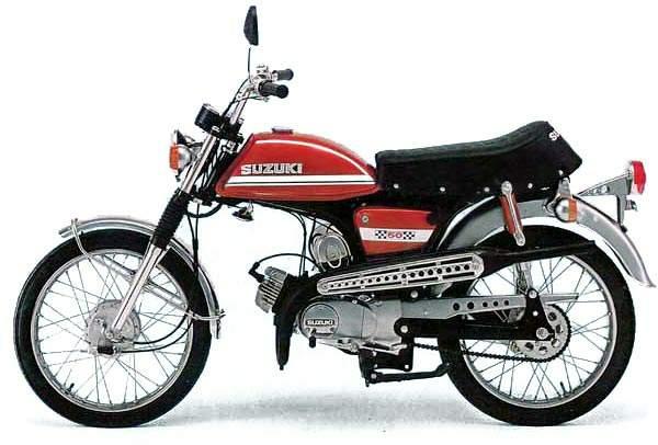 Suzuki AC 50 Colt technical specifications